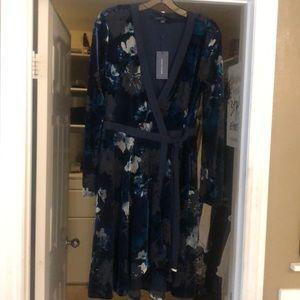 Tommy Hilfiger wrap dress.